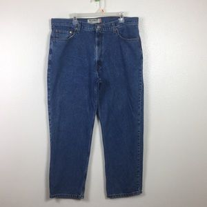 Levi Strauss men's blue jeans 40x30 relaxed fit
